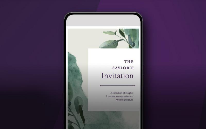 The Savior's Invitation