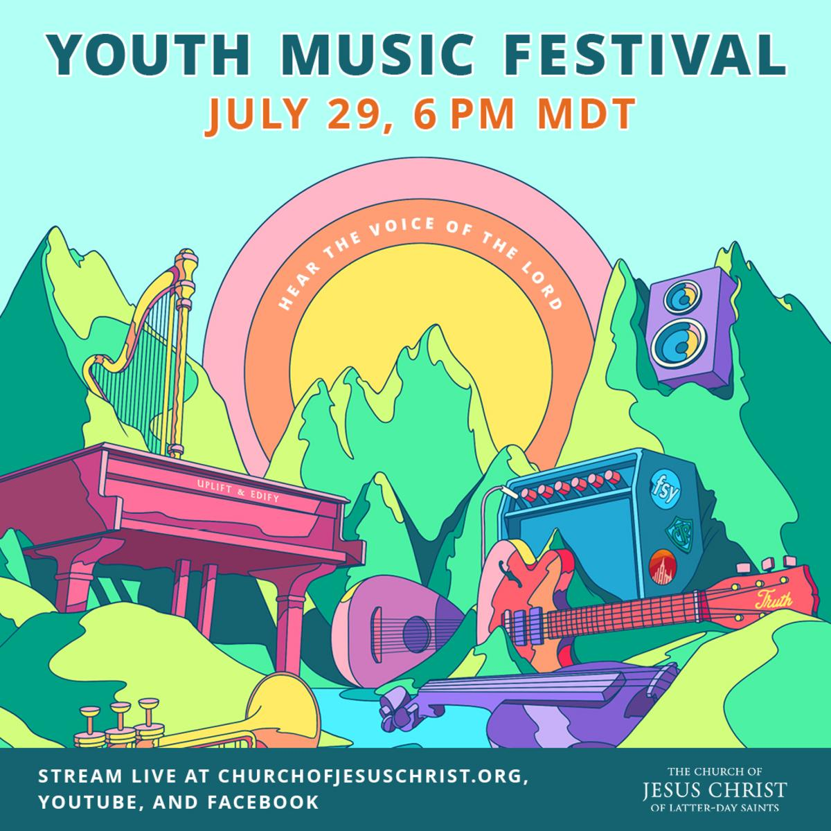 Youth Music Festival Poster