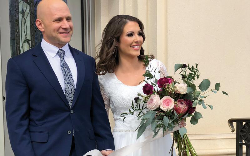 Justin & Kelly Temple Wedding