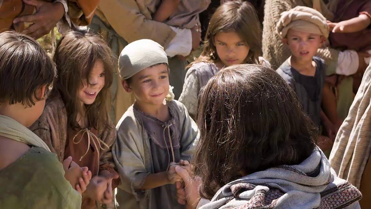 Jesus Christ and children