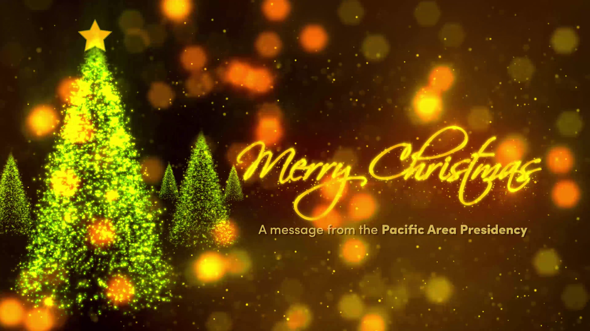 Merry Christmas from the Area Presidency