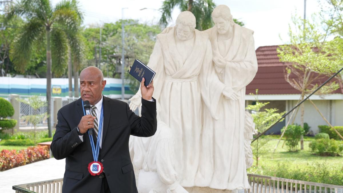 Elder Taniela B. Wakolo, President Philippines Area