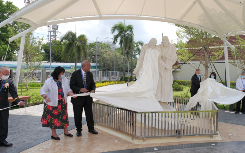 Ceremony for the Unveiling of the First Vision Statue