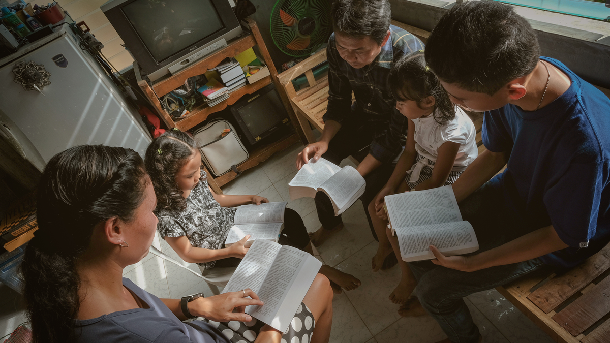 Family & Individual Happiness: Home-centered, Church-supported