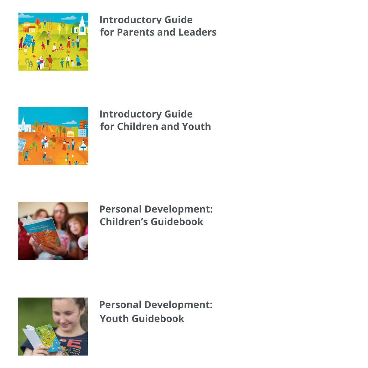 Children and Youth Guides