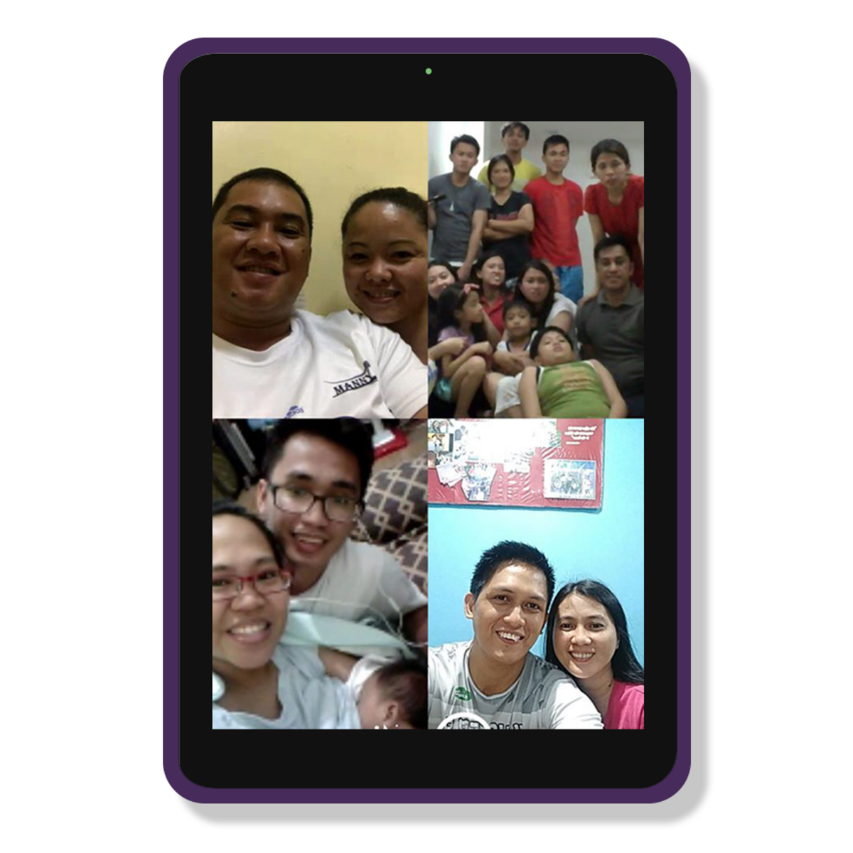 Manosig family's first virtual FHE