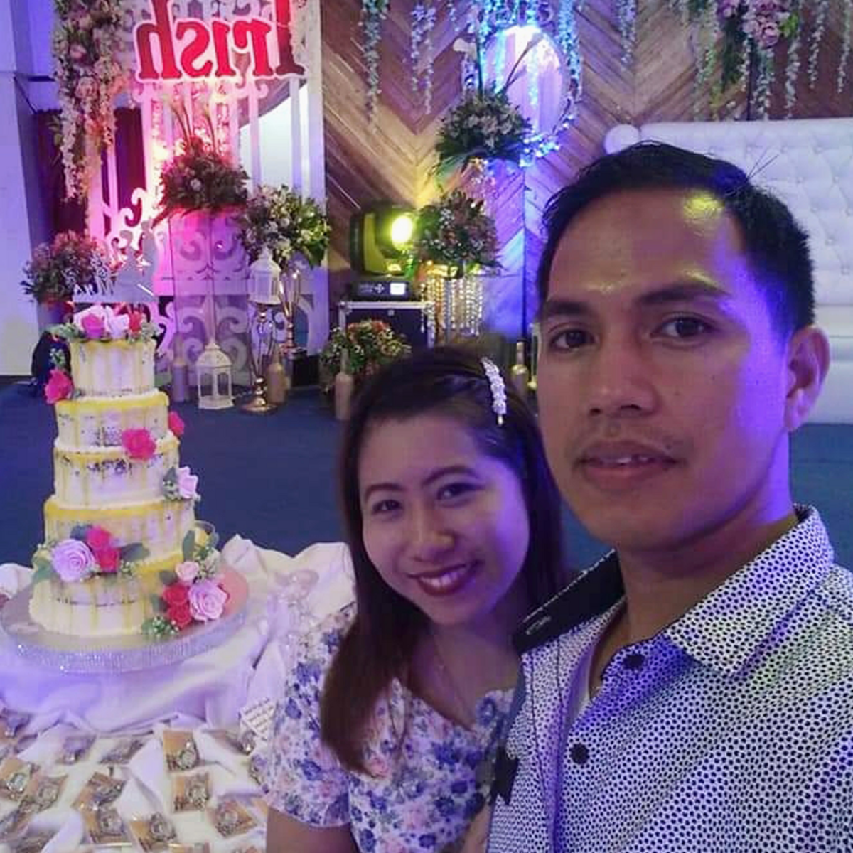 Coleen Emily and Frank Salinas of Hilongos Branch