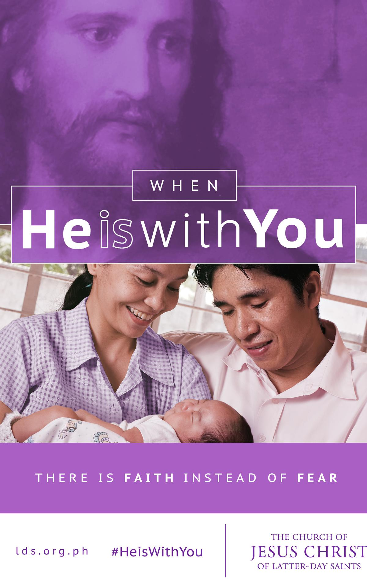 When He is with you there is faith