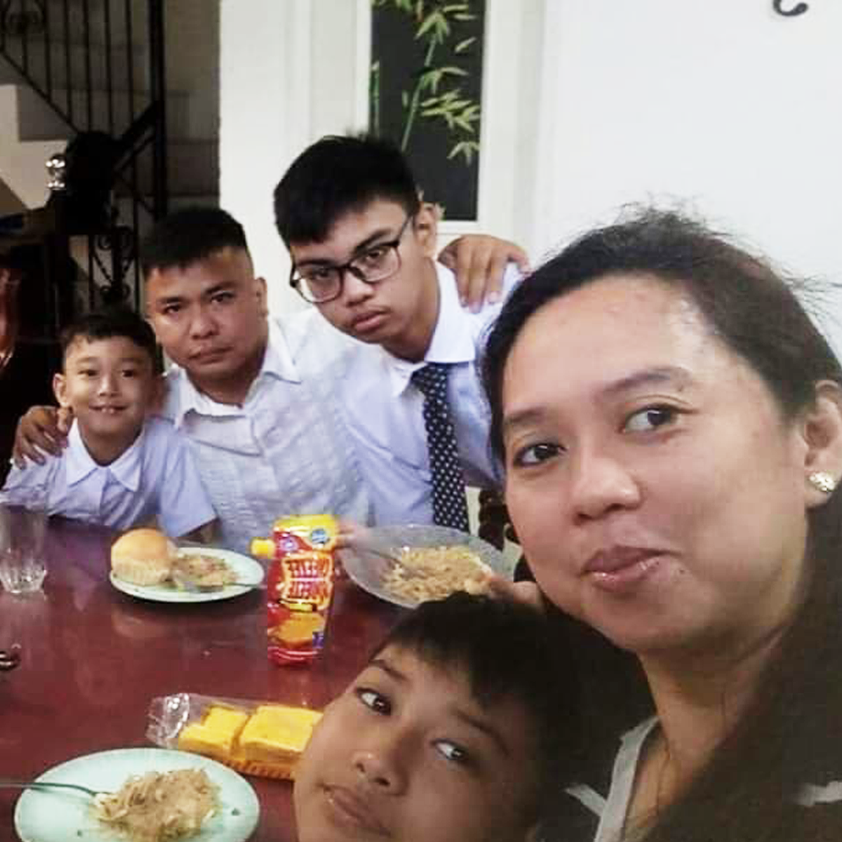 Sabiniano family from Novaliches, Quezon City