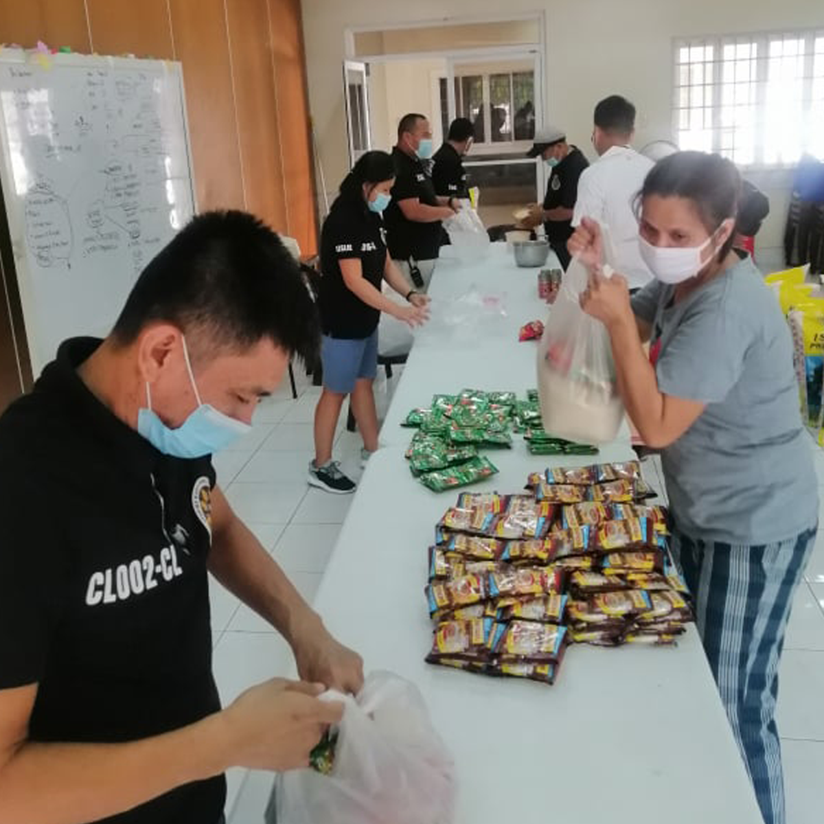 Later-day Saints all over the country adapted to the new normal of quarantine living to continue serving each other and helping others enjoying the blessings of the gospel.
