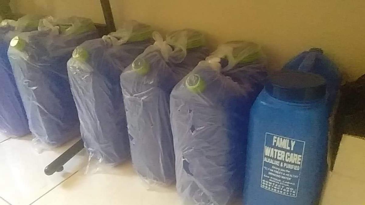 Emergency supplies for members.