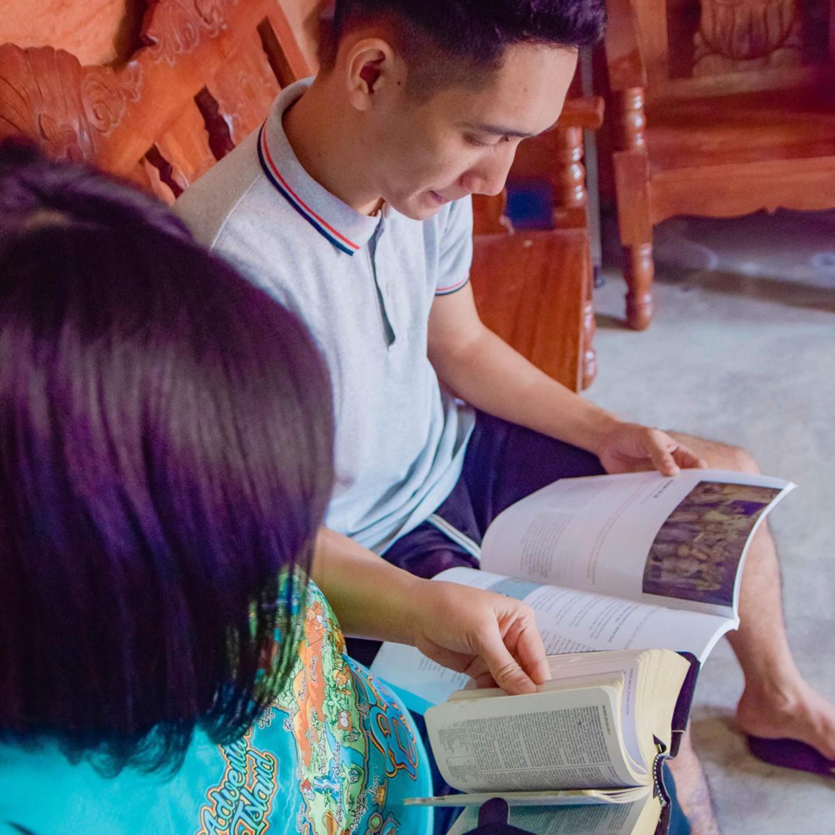 I sought refuge in the scriptures.