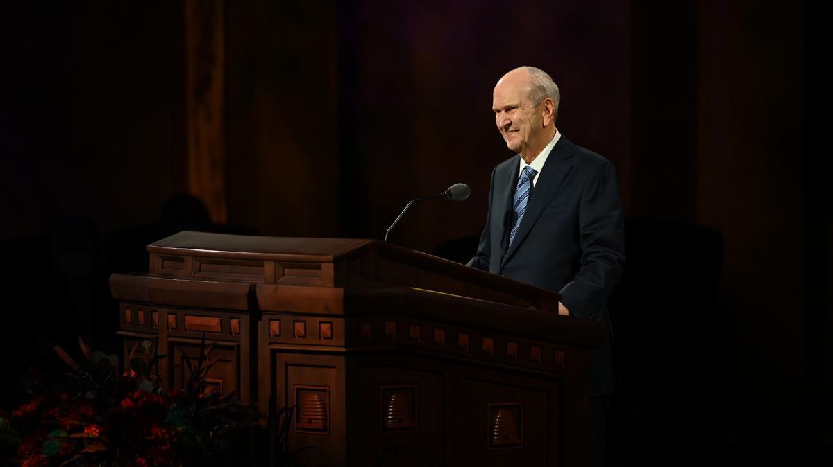 Президент Нельсон на Генеральной конференции: позвольте Богу восторжествовать, примите будущее и утверждайте своей жизнью «новую нормальность»