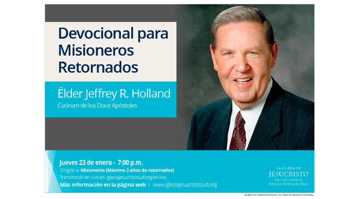 Elder Holland en Quito