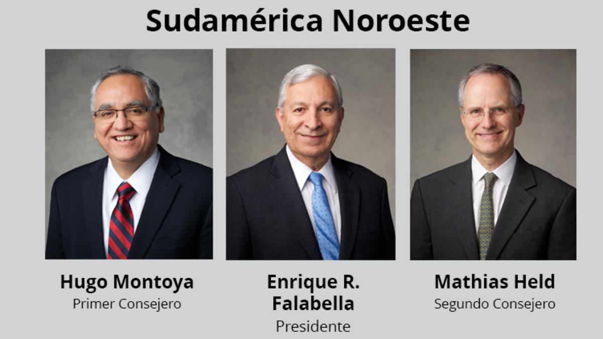 Presidencia del Área Sudamérica Noroeste 2018