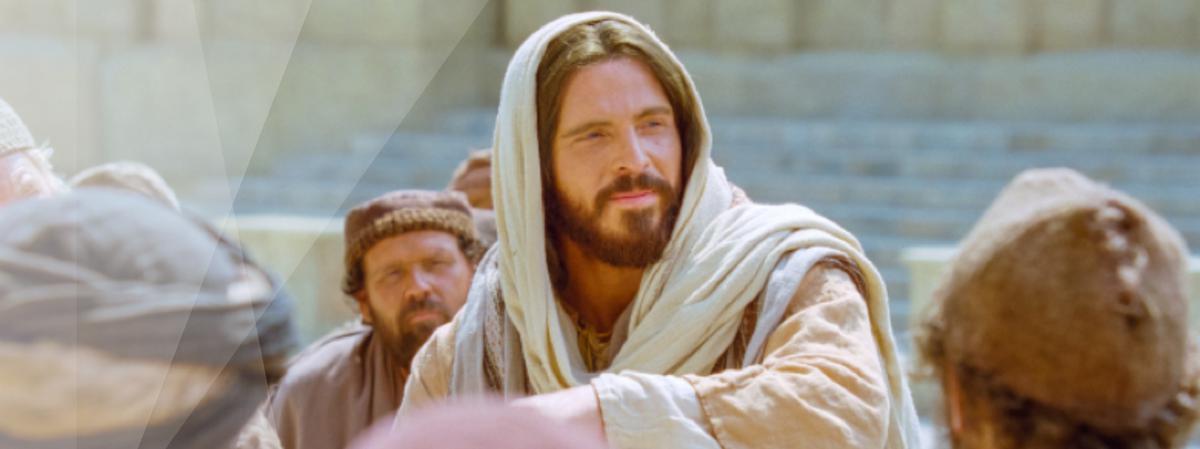 Jesús enseñando.