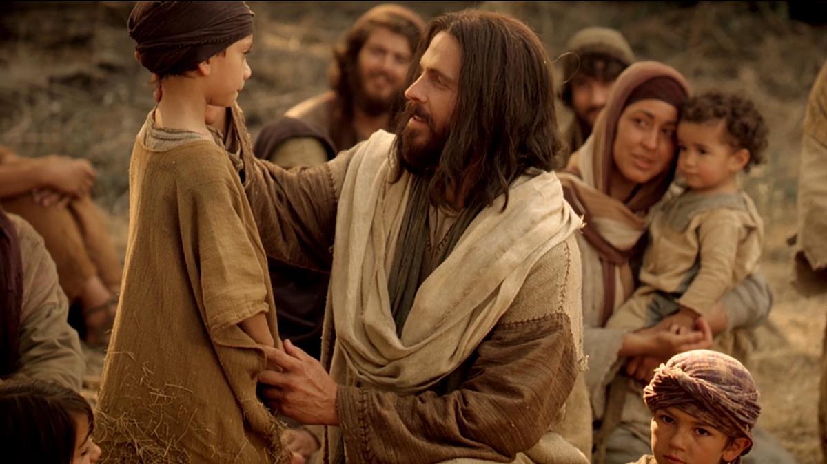 Cristo ministrar uno a uno