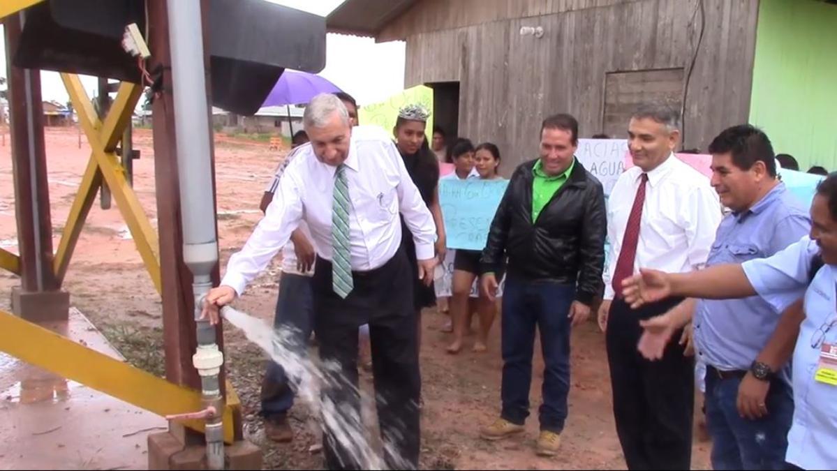 Departamento de Bienestar - Proyecto Agua Limpia