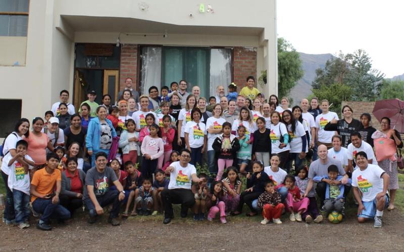 Miembros de Bolivia y misioneros retornados en Bolivia