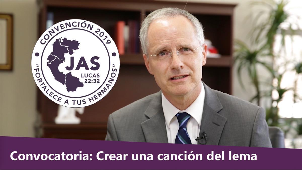 La portada de la convocatoria JAS.