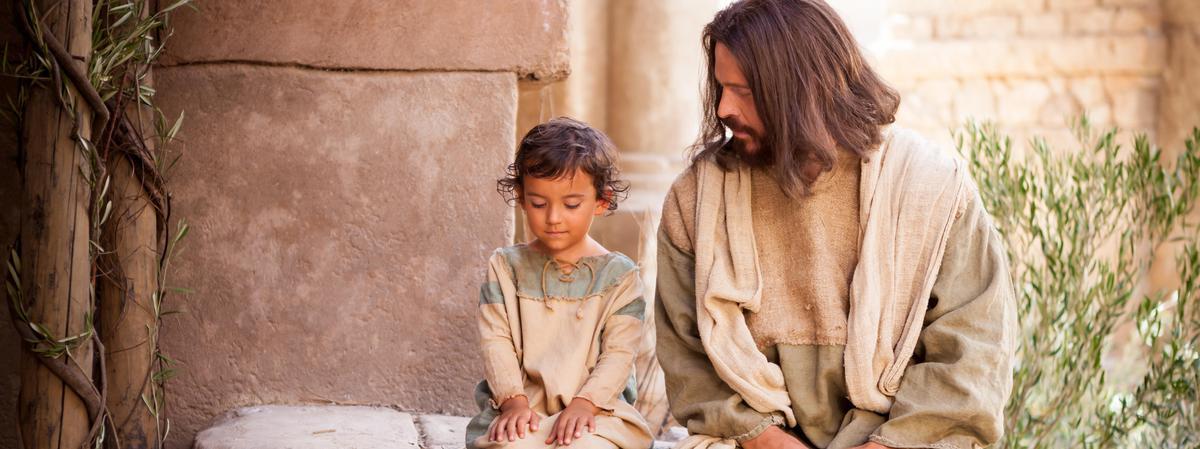 Jesús y niño