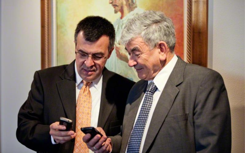 Sitio web para obispos y presidentes de estaca