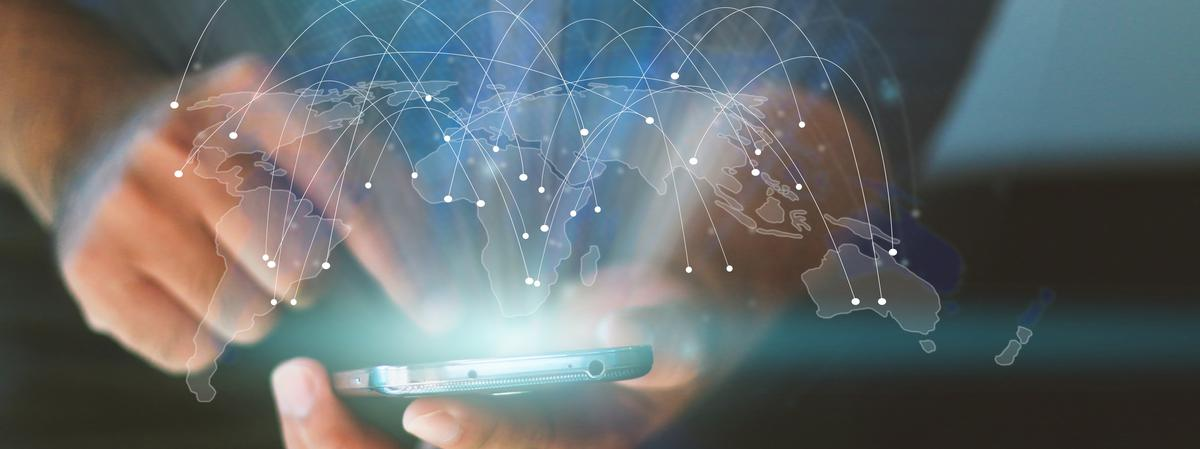 Tecnología en la mano