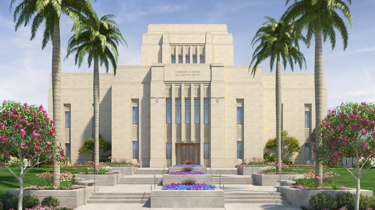 Los Olivos Templo