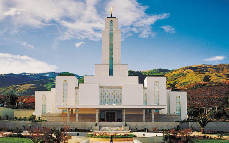 El templo SUD en Cochabamba, Bolivia