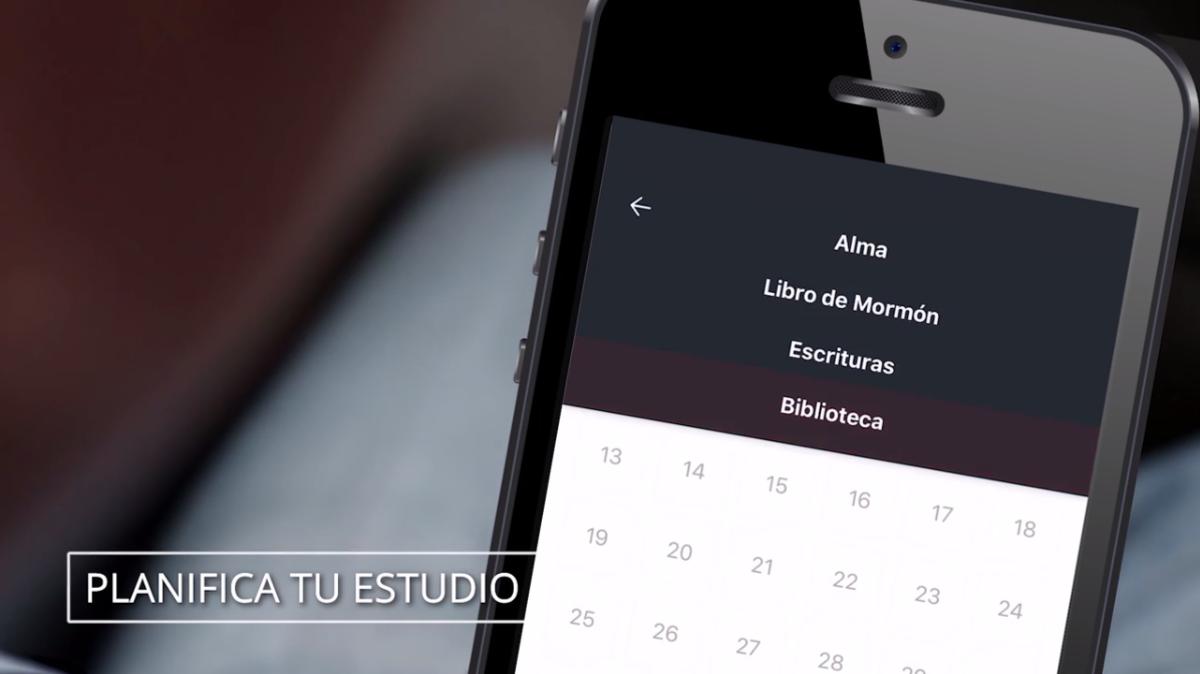 La versión digital de las escrituras en el móvil.