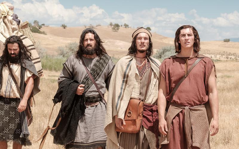 Nefi y sus hermanos