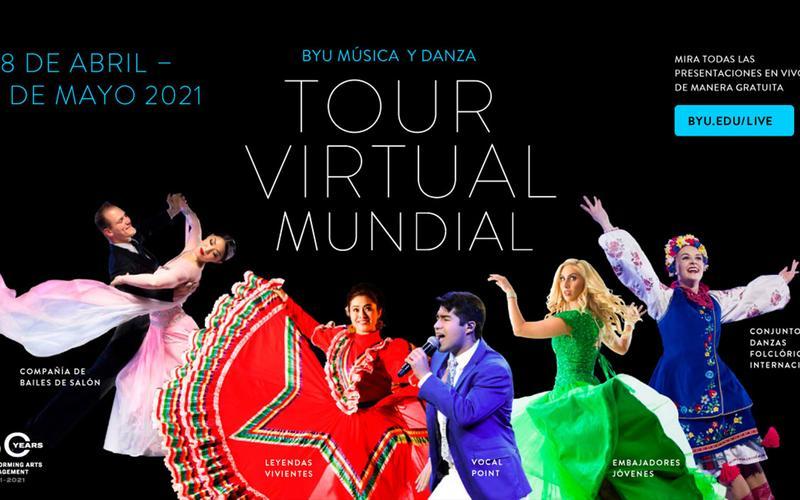 Gira mundial virtual de música y danza de BYU