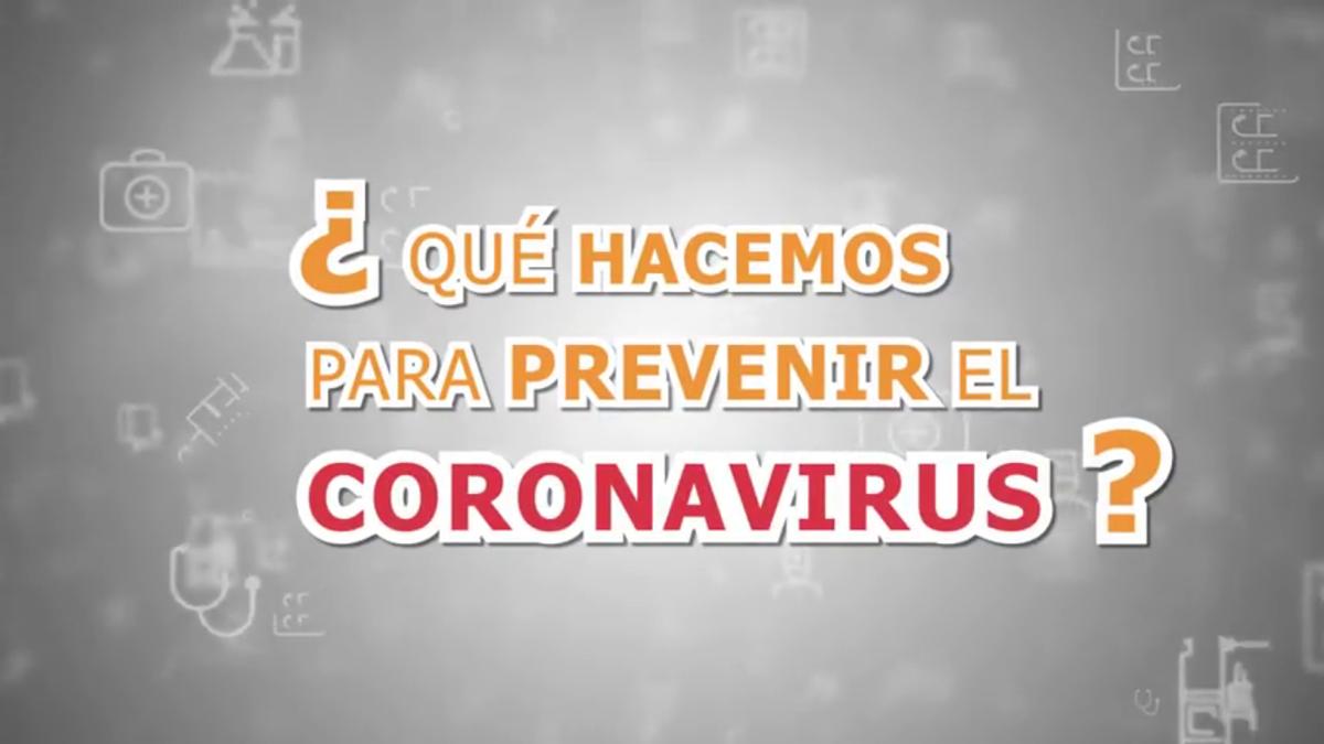 ¿qué hacemos para prevenir el coronavirus?