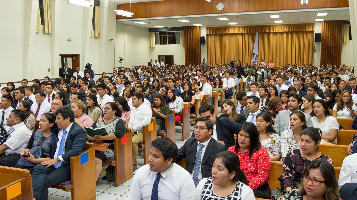 foto de la congregación