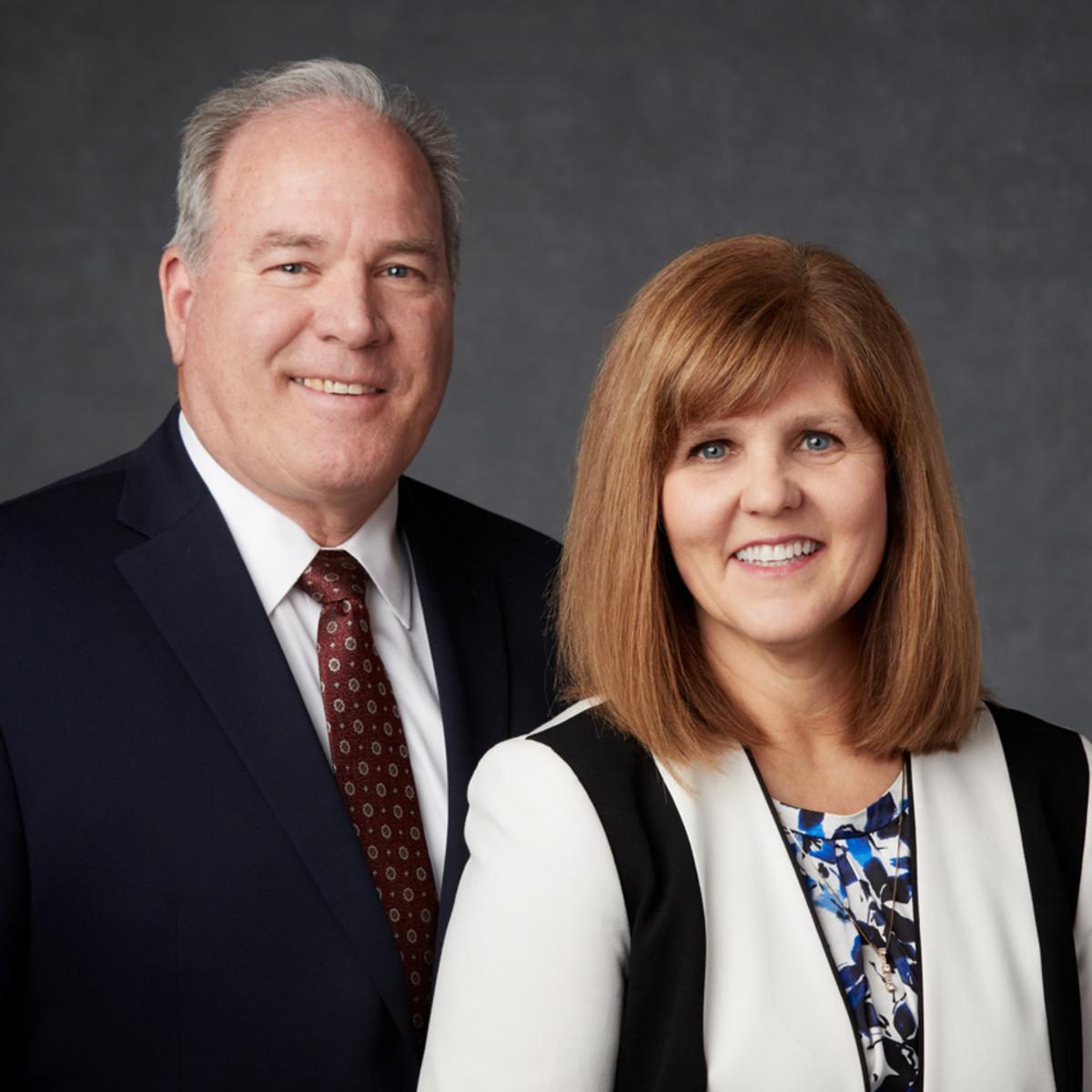 El Presidente Marsh y su esposa de la Misión Perú Arequipa