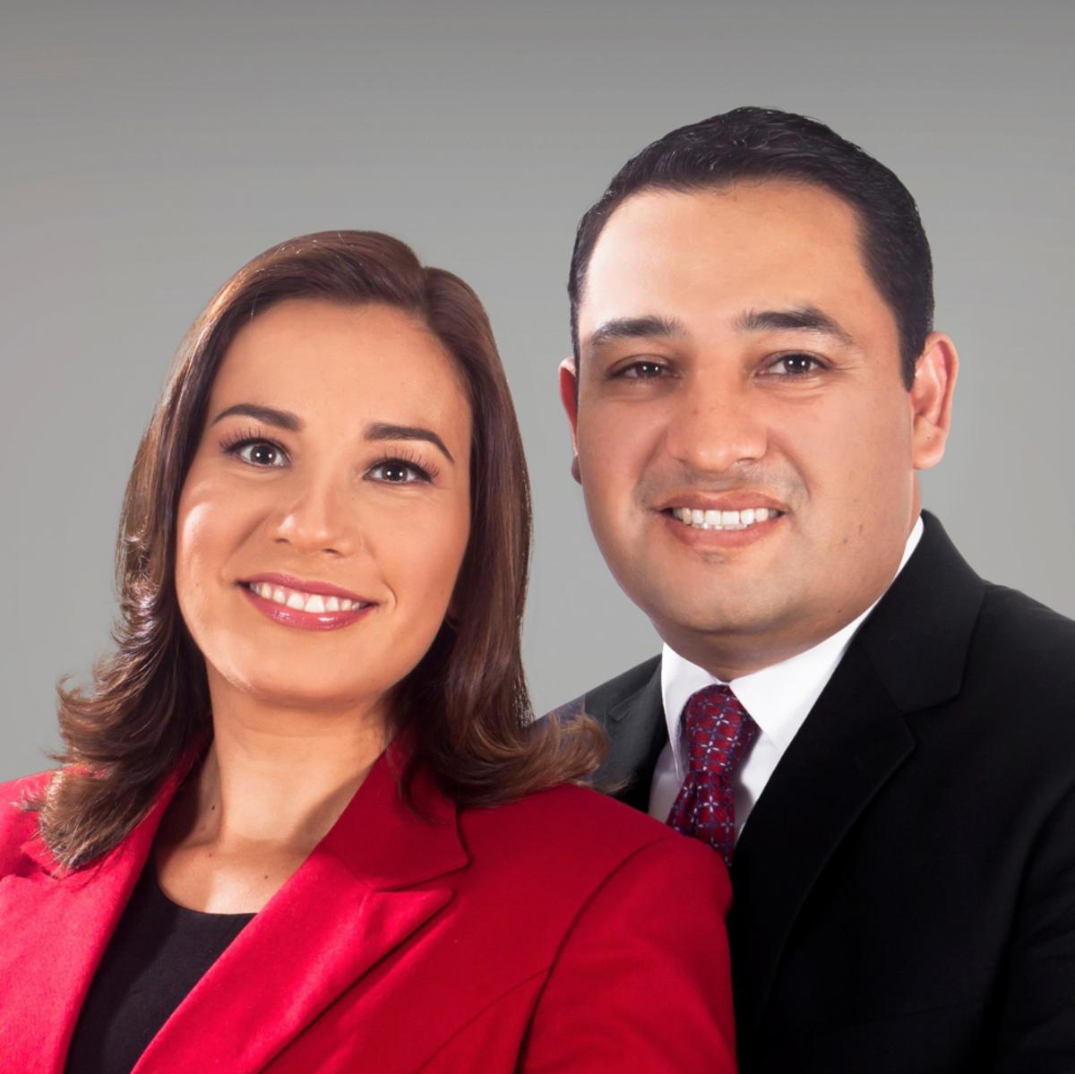Presidente Quiroga y su esposa de la misión Bolivia La Paz