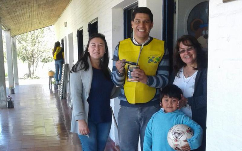 Actividad de servicio Distrito La Paz Argentina