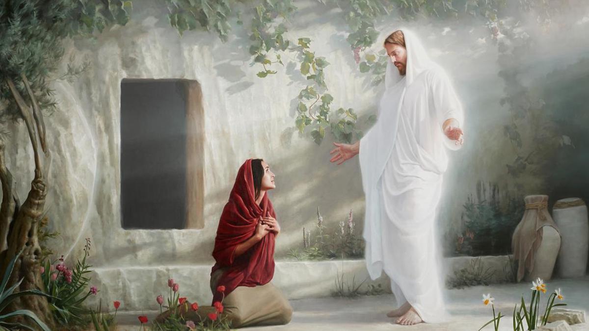 Jesucristo y Maria