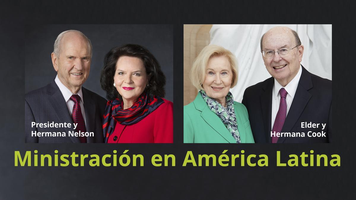 Ministración América Latina agosto 2019 del Presidente Nelson y el Elder Cook