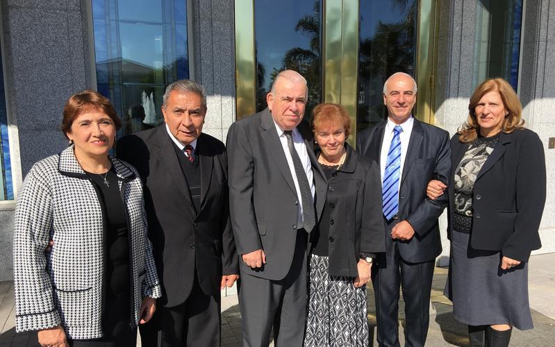 Presidencia del Templo de Buenos Aires 2015