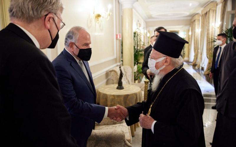 Старійшина Разбанда виступає на Міжконфесійному форумі G20 в Італії