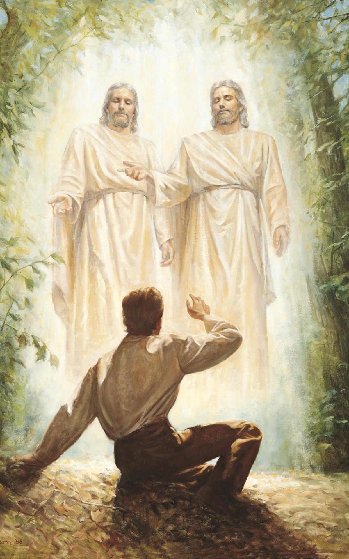Джозеф Сміт у Священному гаю