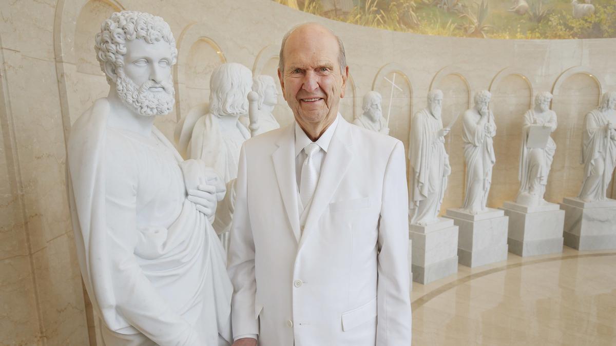 Presidente Nelson participa da dedicação do templo de Roma