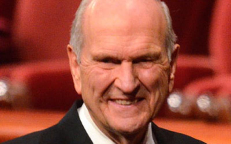 Presidente Nelson durante Conferência Geral da Igreja