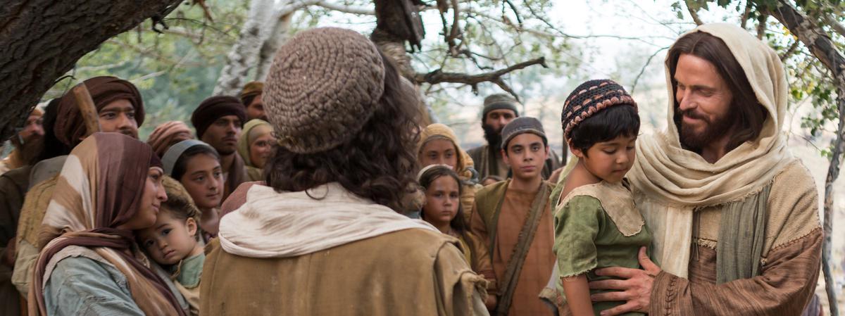 Jesucristo con un niño