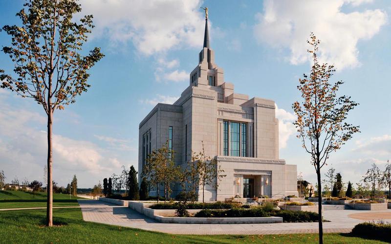 Письмо Президентства региона в связи с 10-ой годовщиной посвящения Киевского храма.