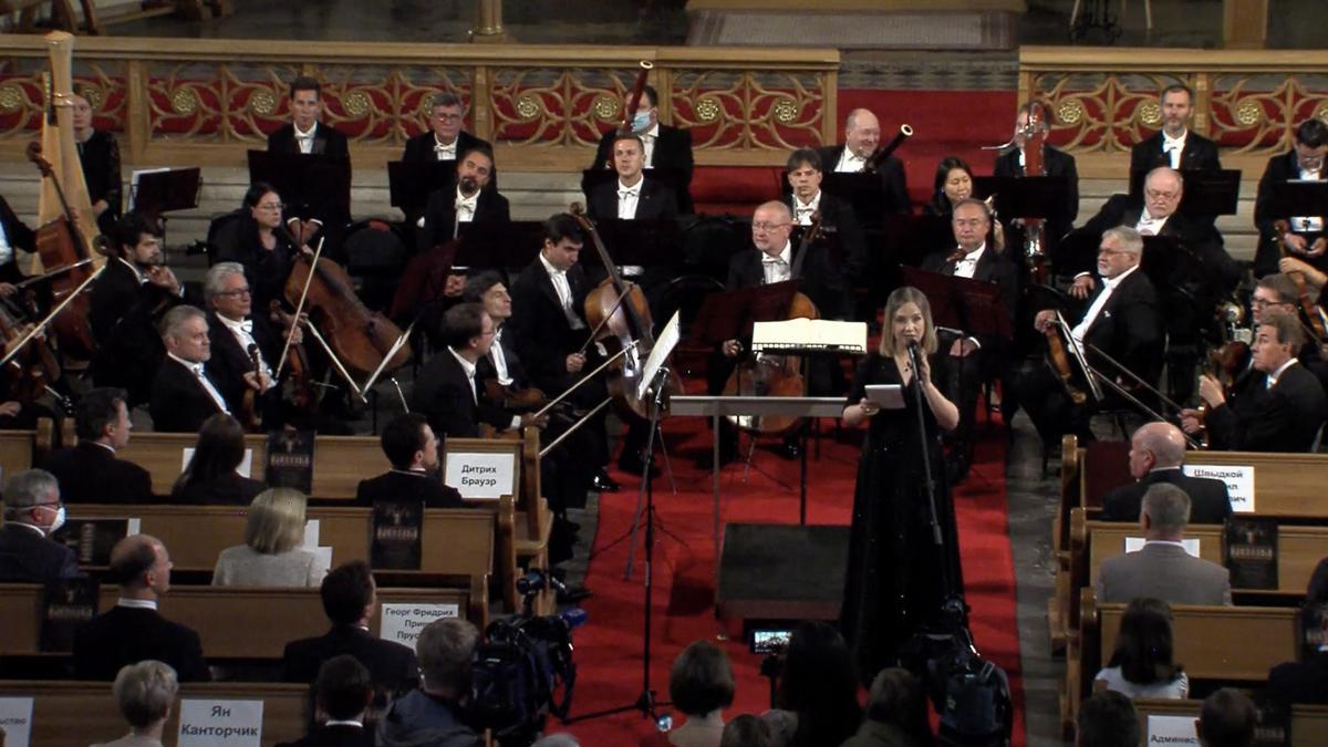 Памятный концерт к 75-летию со дня окончания Второй мировой войны