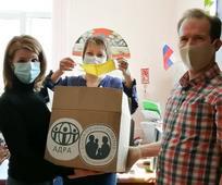 Обеспечение населения защитными масками налажено благодаря поддержке Благотворительной службы СПД