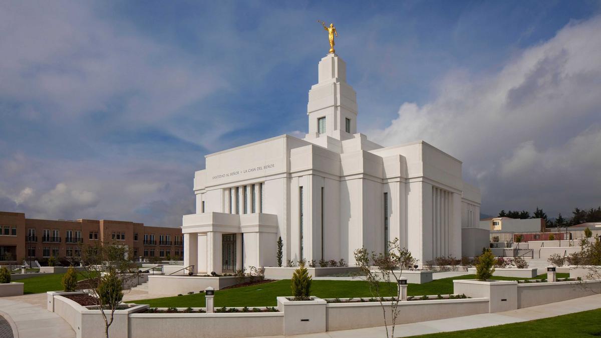 Пророк объявляет о строительстве новых храмов