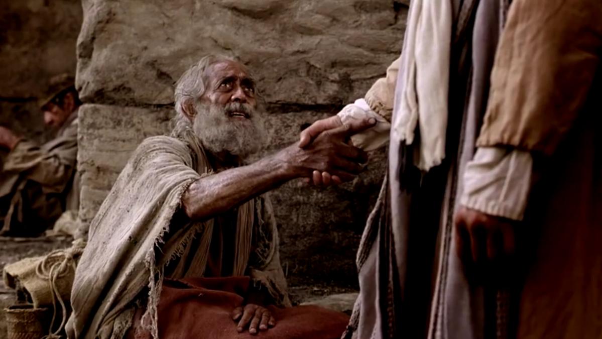 Иисус исцеляет парализованного в субботу